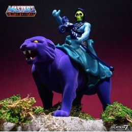 MASTERS OF THE UNIVERSE RE-ACTION SKELETOR AND PANTHOR 2-PACK ACTION FIGURE SUPER7