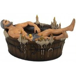 THE WITCHER 3 WILD HUNT - GERALT IN THE BATH 18CM RESIN STATUE FIGURE