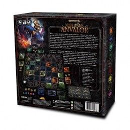 WARHAMMER AGE OF SIGMAR - THE RISE AND FALL OF ANVALOR GIOCO DA TAVOLO WIZKIDS