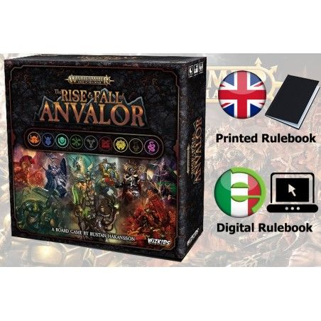 WARHAMMER AGE OF SIGMAR - THE RISE AND FALL OF ANVALOR GIOCO DA TAVOLO