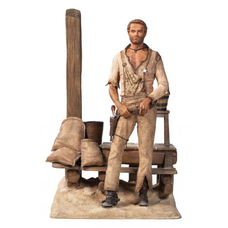 TERENCE HILL 1970 STATUE 36 CM 1/6 RESIN FIGURE
