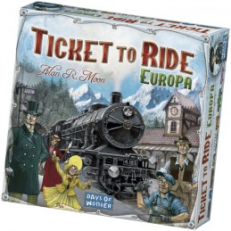 TICKET TO RIDE EUROPA -...