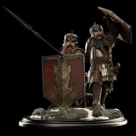 THE HOBBIT BATTLE FIVE ARMIES DWARVES HILLS 1/6 38CM RESIN STATUE FIGURE