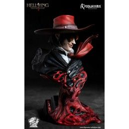 HELLSING ALUCARD ULTIMATE BUST STATUE 16CM RESIN FIGURE BELLFINE