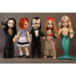LIVING DEAD DOLLS LDD SERIES 30 SET 5X ACTION FIGURES MEZCO TOYS