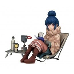 LAID-BACK CAMP RIN SHIMA 1/7 13CM STATUE FIGURE GOOD SMILE COMPANY