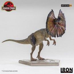 JURASSIC PARK - DILOPHOSAURUS 1/10 ART SCALE 18CM RESIN FIGURE IRON STUDIOS