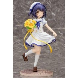 IS THE ORDER A RABBIT - MAYA SUMMER UNIFORM 21CM STATUE FIGURE PLUM
