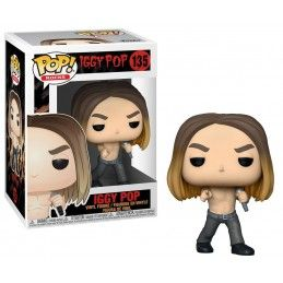 FUNKO FUNKO POP! IGGY POP BOBBLE HEAD KNOCKER FIGURE