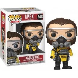 FUNKO FUNKO POP! APEX LEGENDS - CAUSTIC BOBBLE HEAD KNOCKER FIGURE
