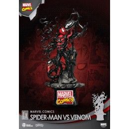 BEAST KINGDOM D-STAGE MARVEL SPIDER-MAN VS VENOM STATUE DIORAMA