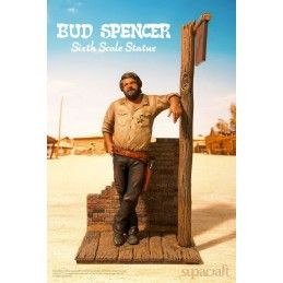"SUPACRAFT BUD SPENCER ""BAMBINO"" 1970 STATUE 44 CM 1/6 RESIN FIGURE"
