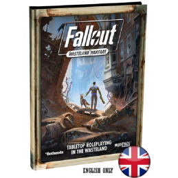 FALLOUT WASTELAND WARFARE TABLETOP ROLEPLAYING GIOCO DI RUOLO MODIPHIUS ENTERTAINMENT