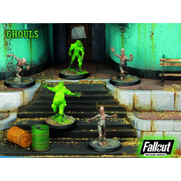 FALLOUT WASTELAND WARFARE - GHOULS MINIATURE TABLETOP ROLEPLAYING GIOCO DI RUOLO MODIPHIUS ENTERTAINMENT