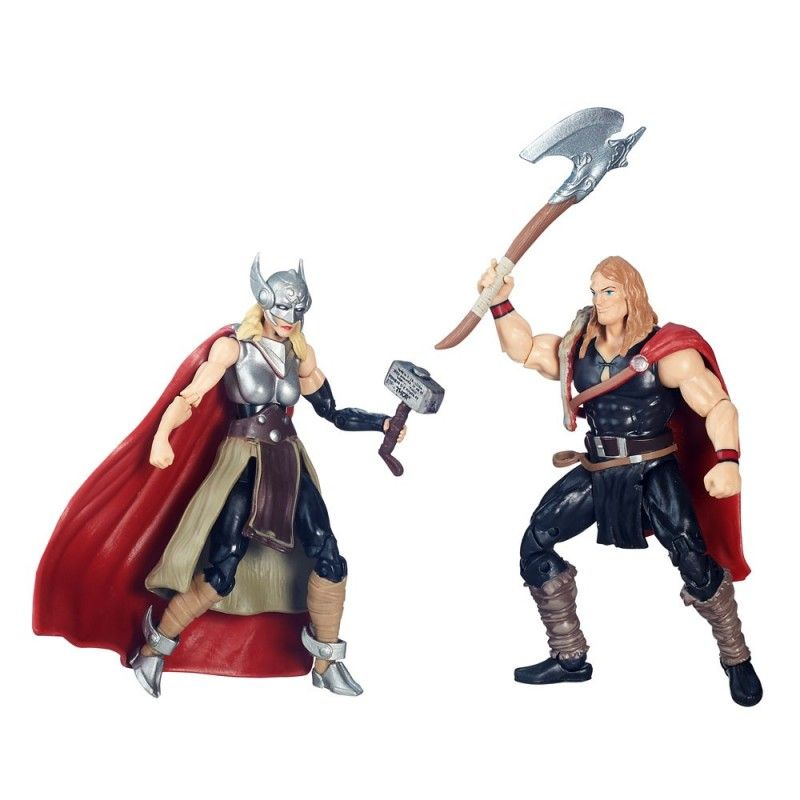HASBRO MARVEL LEGENDS SECRET WARS - ODINSON + THOR ACTION FIGURE