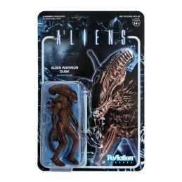 SUPER7 ALIENS REACTION WAVE 1- ALIEN WARRIOR DUSK ACTION FIGURE