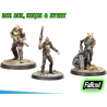 FALLOUT WASTELAND WARFARE - ACK ACK, SINJIN AND AVERY MINIATURE TABLETOP ROLEPLAYING GIOCO DI RUOLO MODIPHIUS ENTERTAINMENT