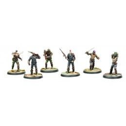 FALLOUT WASTELAND WARFARE - RAIDERS SCAVVERS AND PSYCHOS MINIATURE TABLETOP ROLEPLAYING GIOCO DI RUOLO MODIPHIUS ENTERTAINMENT