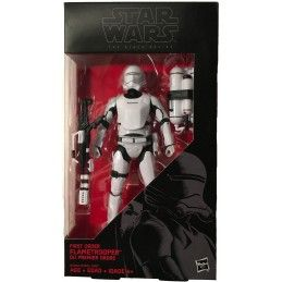 STAR WARS THE BLACK SERIES - FIRST ORDER FLAMETROOPER ACTION FIGURE HASBRO