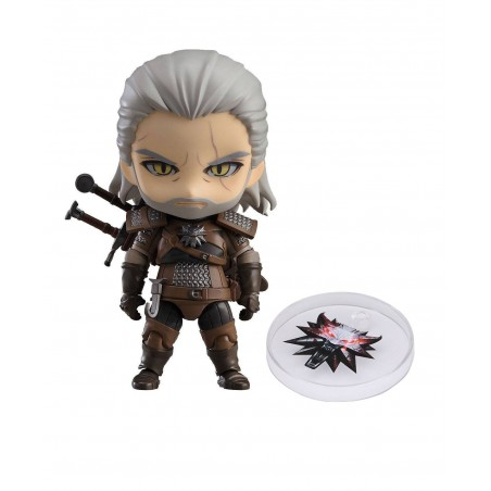 THE WITCHER 3 WILD HUNT - GERALT NENDOROID EXCLUSIVE ACTION FIGURE