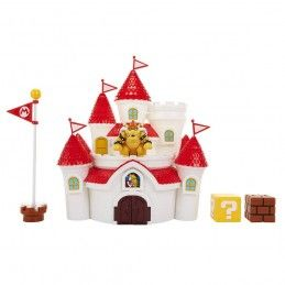JAKKS PACIFIC INC. NINTENDO SUPER MARIO MUSHROOM KINGDOM CASTLE PLAYSET DIORAMA ACTION FIGURE