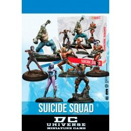 DC UNIVERSE MINIATURE GAME - SUICIDE SQUAD BOX MINI RESIN STATUE FIGURE KNIGHT MODELS