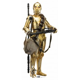 STAR WARS RISE OF SKYWALKER C-3PO LIFESIZED 176 CM CUTOUT SAGOMATO STAR