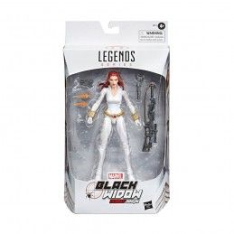 MARVEL LEGENDS - BLACK WIDOW WHITE SUIT ACTION FIGURE HASBRO