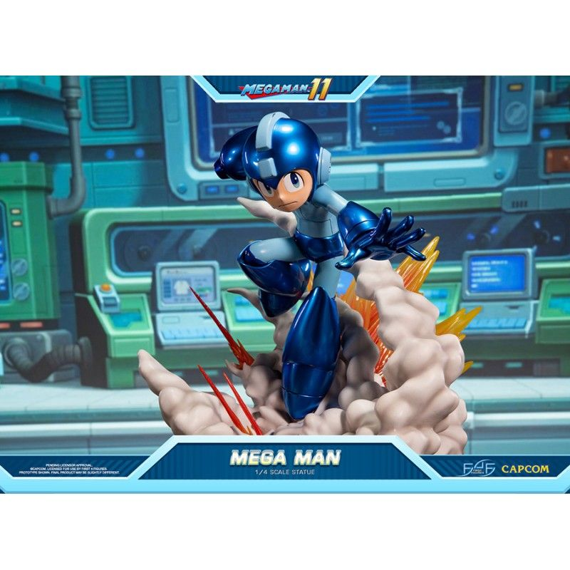 MEGA MAN 11 - MEGA MAN 1/4 STATUE 42CM FIGURE FIRST4FIGURES