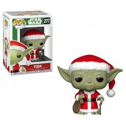 FUNKO FUNKO POP! STAR WARS YODA NATALIZIO BOBBLE HEAD KNOCKER FIGURE