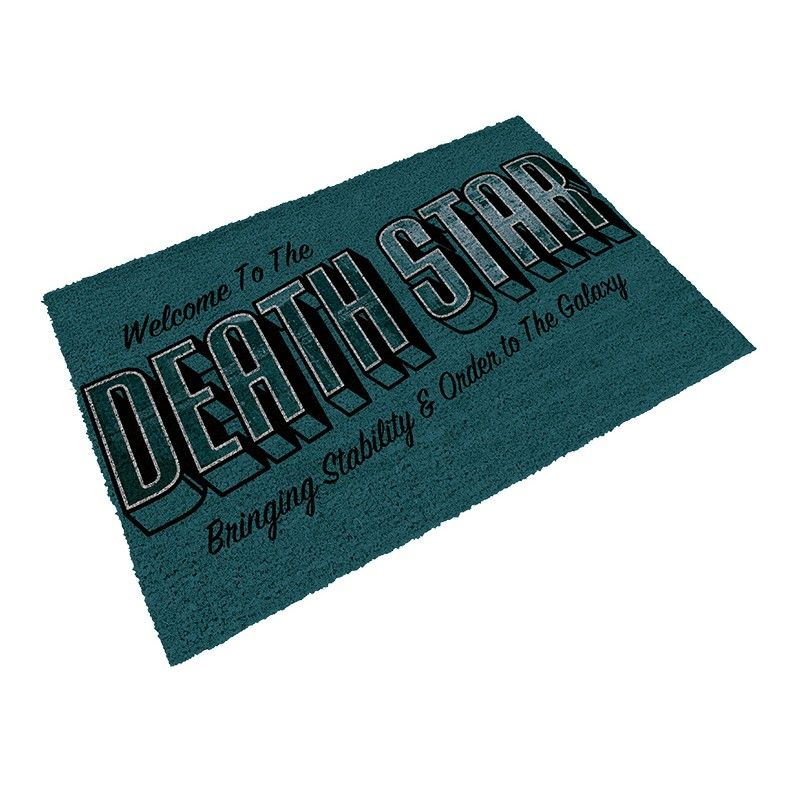SD TOYS STAR WARS WELCOME TO THE DEATH STAR DOORMAT ZERBINO TAPPETINO