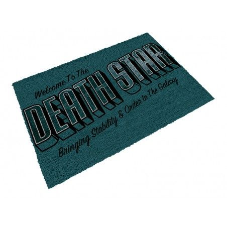 STAR WARS WELCOME TO THE DEATH STAR DOORMAT ZERBINO TAPPETINO