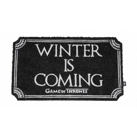 GAME OF THRONES WINTER IS COMING ZERBINO 43X73CM TAPPETINO