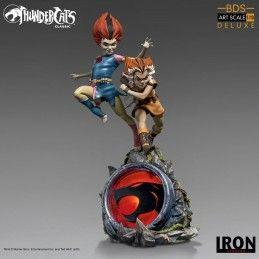 THUNDERCATS - WILYKIT AND WILYKAT BDS ART SCALE 1/10 STATUE FIGURE IRON STUDIOS