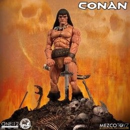 CONAN THE BARBARIAN ONE:12 ACTION FIGURE MEZCO TOYS
