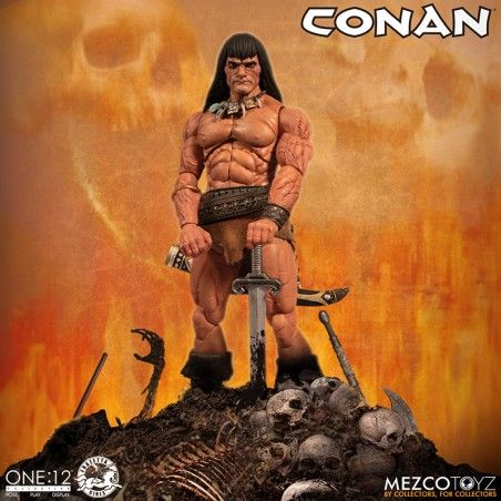 CONAN THE BARBARIAN ONE:12 ACTION FIGURE