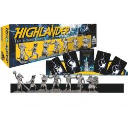 HIGHLANDER THE BOARD GAME PRINCES OF THE UNIVERSE ESPANSIONE GIOCO DA TAVOLO