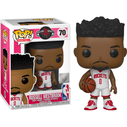 FUNKO POP! NBA - RUSSELL WESTBROOK (ROCKETS) BOBBLE HEAD KNOCKER FIGURE FUNKO