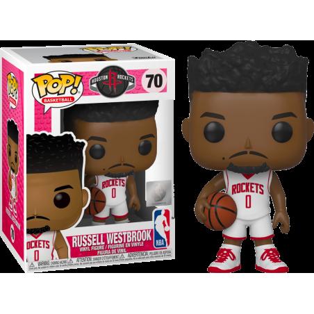 FUNKO POP! NBA - RUSSELL WESTBROOK (ROCKETS) BOBBLE HEAD KNOCKER FIGURE