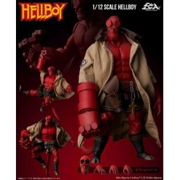 HELLBOY 1/12 - HELLBOY 20CM ACTION FIGURE 1000TOYS