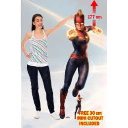 CAPTAIN MARVEL LIFESIZED...