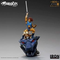 THUNDERCATS - LION-O AND SNARF BDS ART SCALE 1/10 45 CM STATUE FIGURE IRON STUDIOS