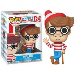 FUNKO FUNKO POP! WHERE'S WALDO - WALDO BOBBLE HEAD KNOCKER FIGURE
