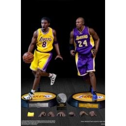NBA COLLECTION REAL MASTERPIECE KOBE BRYANT DUO PACK 1/6 UPGRADED RE-EDITION ACTION FIGURE ENTERBAY