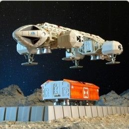 SIXTEEN 12 SPACE SPAZIO 1999 - VIP EAGLE TRANSPORTER AQUILA 30CM REPLICA FIGURE