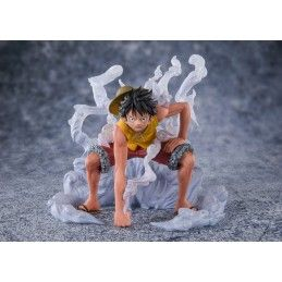 ONE PIECE ZERO MONKEY D LUFFY PARAMOUNT WAR STATUE FIGURE BANDAI