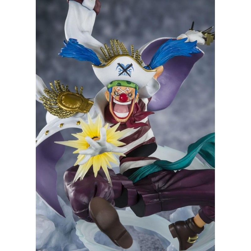 ONE PIECE ZERO BUGGY PARAMOUNT WAR STATUE FIGURE BANDAI