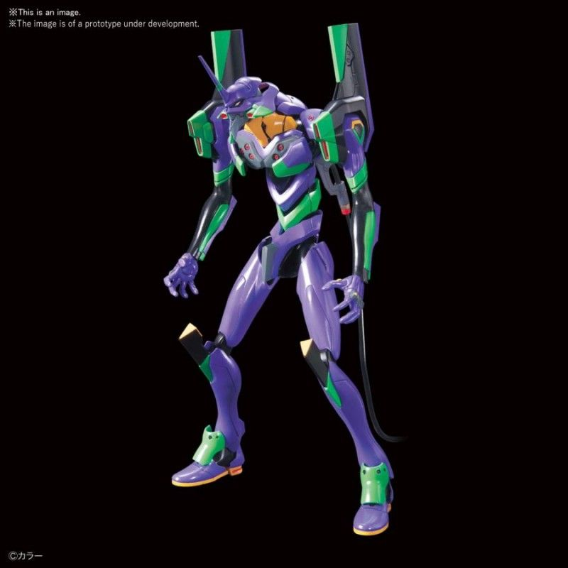 LMHG EVANGELION EVA 01 NEW THEATRICAL VER MODEL KIT ACTION FIGURE BANDAI