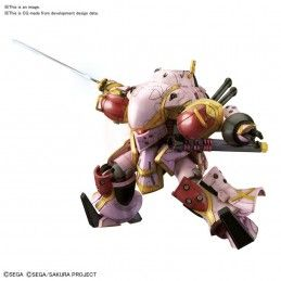 BANDAI HIGH GRADE HG SAKURA WARS SPIRICLE STRIKER MUGEN SAKURA TYPE 1/144 MODEL KIT FIGURE