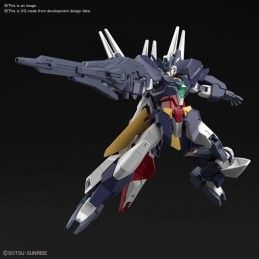 BANDAI HIGH GRADE HGBDR GUNDAM NEW URAVEN 1/144 MODEL KIT FIGURE